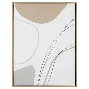 Abstract Linear Framed Art