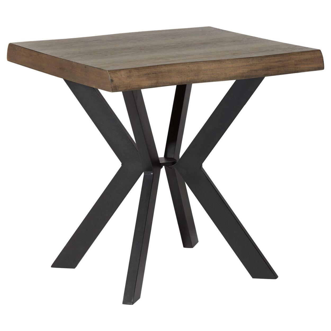 is poplar good for furniture. Live Edge Poplar Wood And MDF Side Table Is Good For Furniture