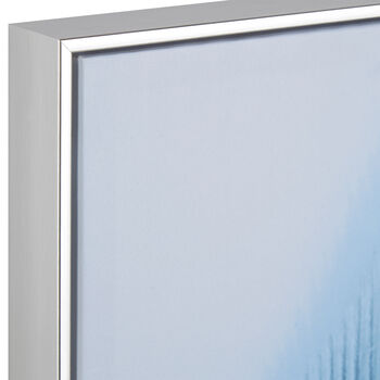 Blue Feather Framed Art