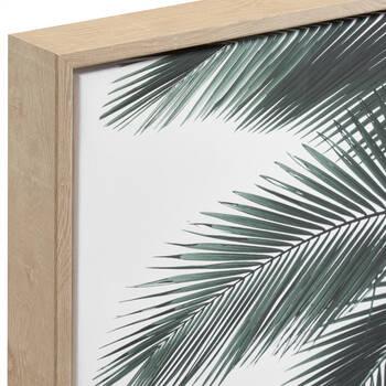 Palm Leaves Printed Framed Art