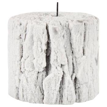Snowy Bark Candle