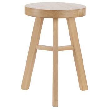 Natural Wood Stool