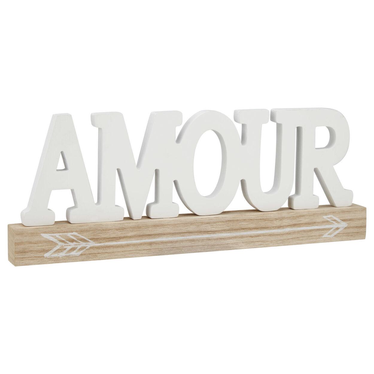 Decorative Word Amour
