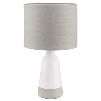 Two-Toned Ceramic Table Lamp