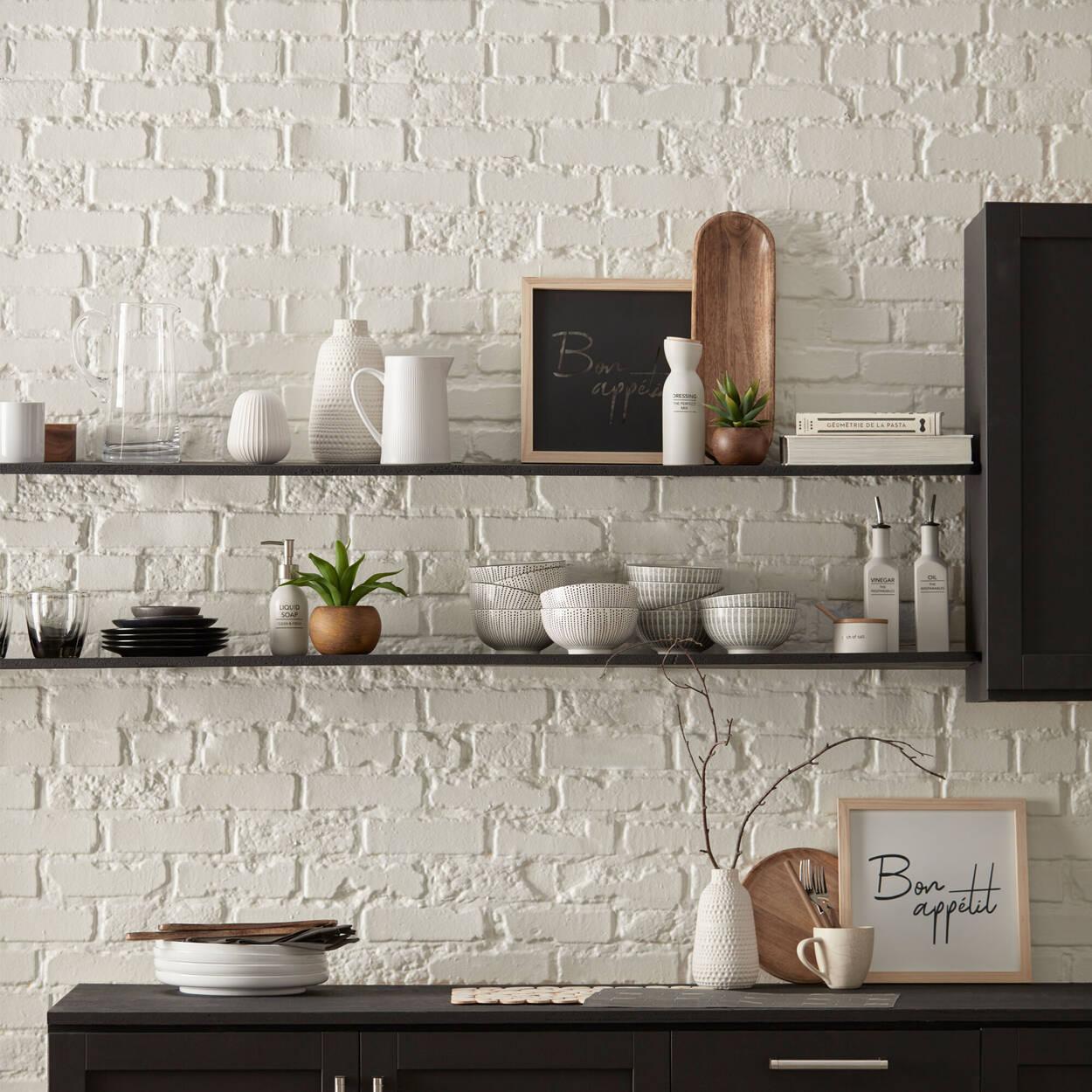 Striped Ceramic Bowl