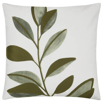 "Leaf Printed Elaine Decorative Pillow 19"" x 19"""