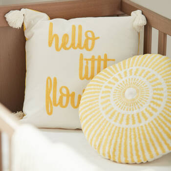 "Bouton d'Or Decorative Pillow 15"" x 15"""