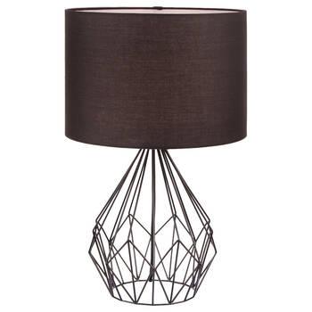 Lampe de table en tige de fer en métal