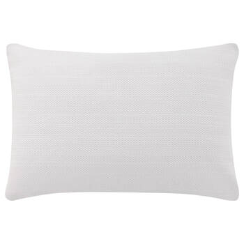 "Candis Embroidered Decorative Lumbar Pillow 14"" X 22"""