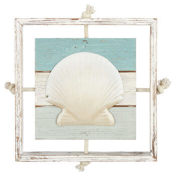 Seashell Wall Plaque