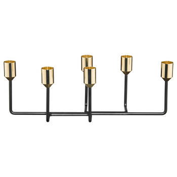 6-Slot Metal Candle Holder