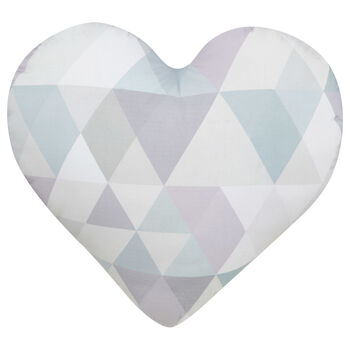 "Eloise Heart-Shaped Decorative Pillow 15"" X 17"""