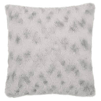 """Isela Faux Fur Decorative Pillow 19"""" X 19"""""""