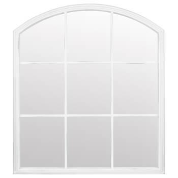 Arched Window Pane Mirror