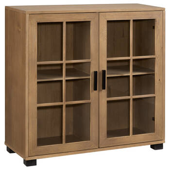 Two-Door Wood Cabinet