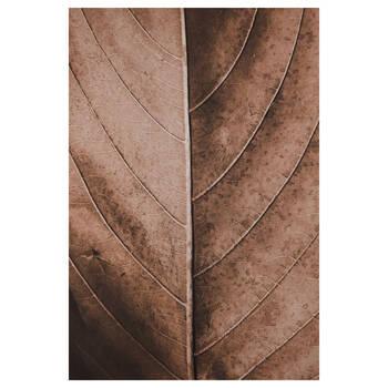 Fall Leaf Printed Canvas