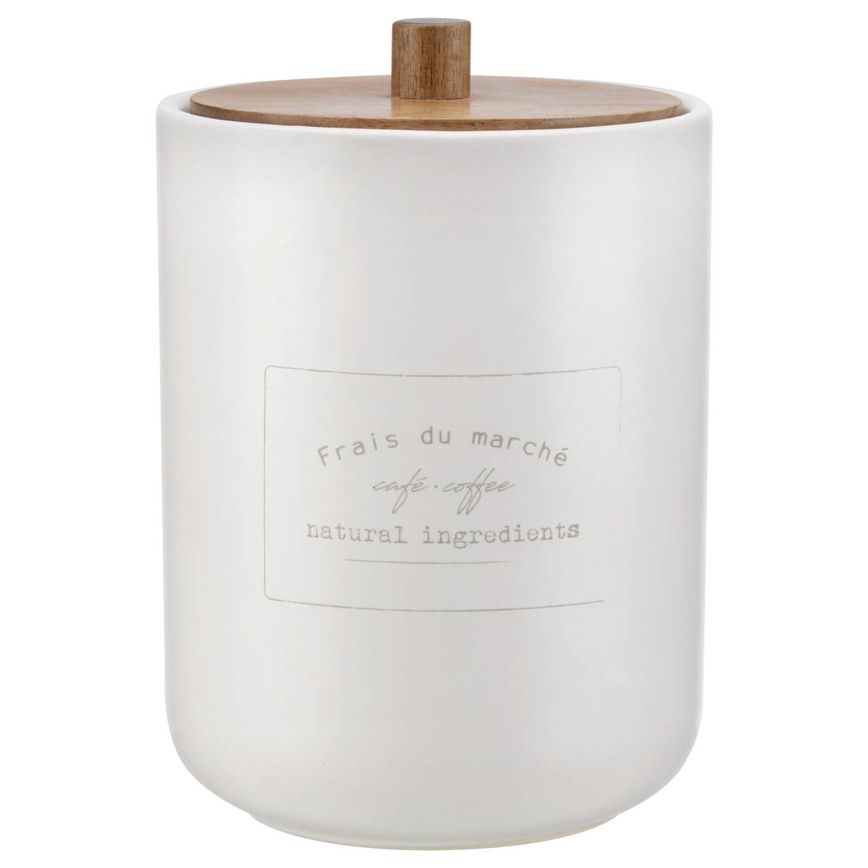 Pot à café hermétique en céramique