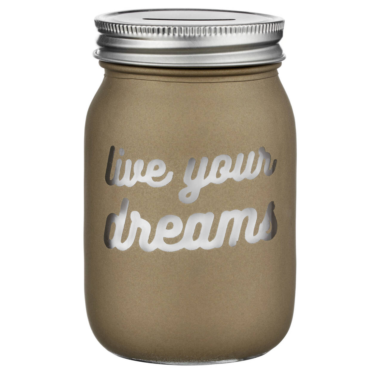 Live Your Dreams Money Bank