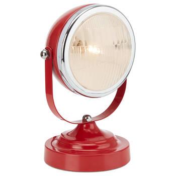 Metal Car Headlight Table Lamp