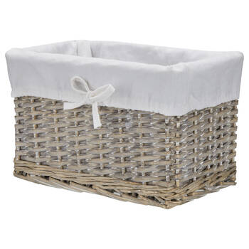 Willow Basket with Lining