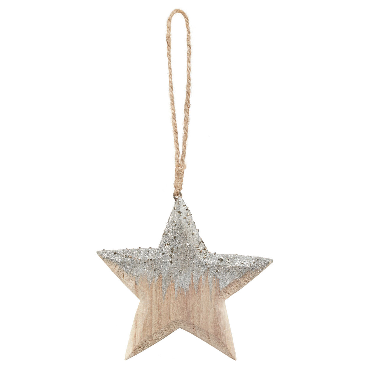 Wooden Star Ornament