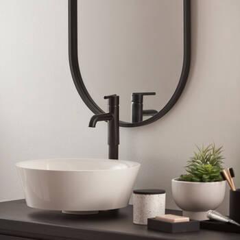 Pot décoratif Terrazzo en céramique