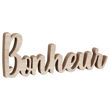 Decorative Word Bonheur