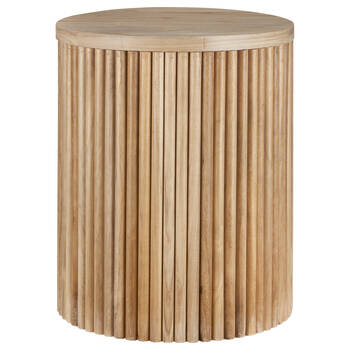 Paulownia Wood Side Table