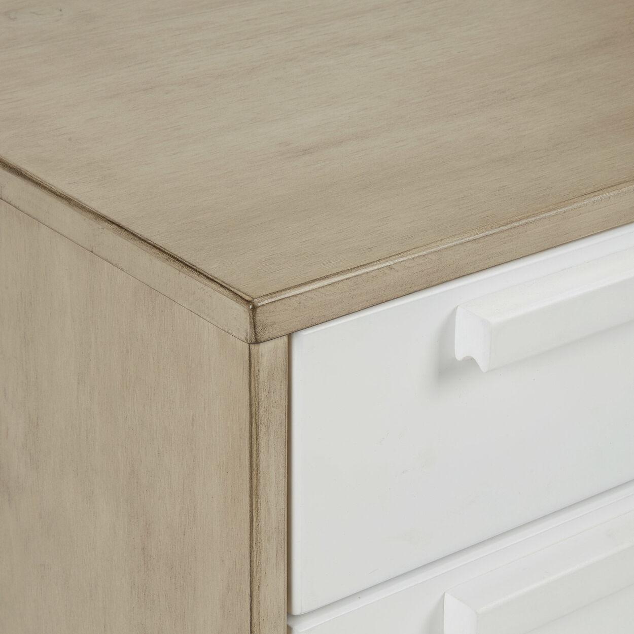 3-Drawer Wood Dresser
