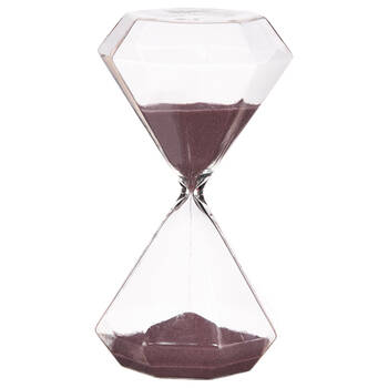 Decorative Geometric Hourglass