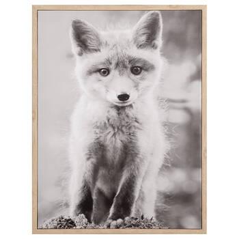 Cadre bébé renard