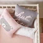 "Chut Embroidered Decorative Pillow 15"" X 15"""