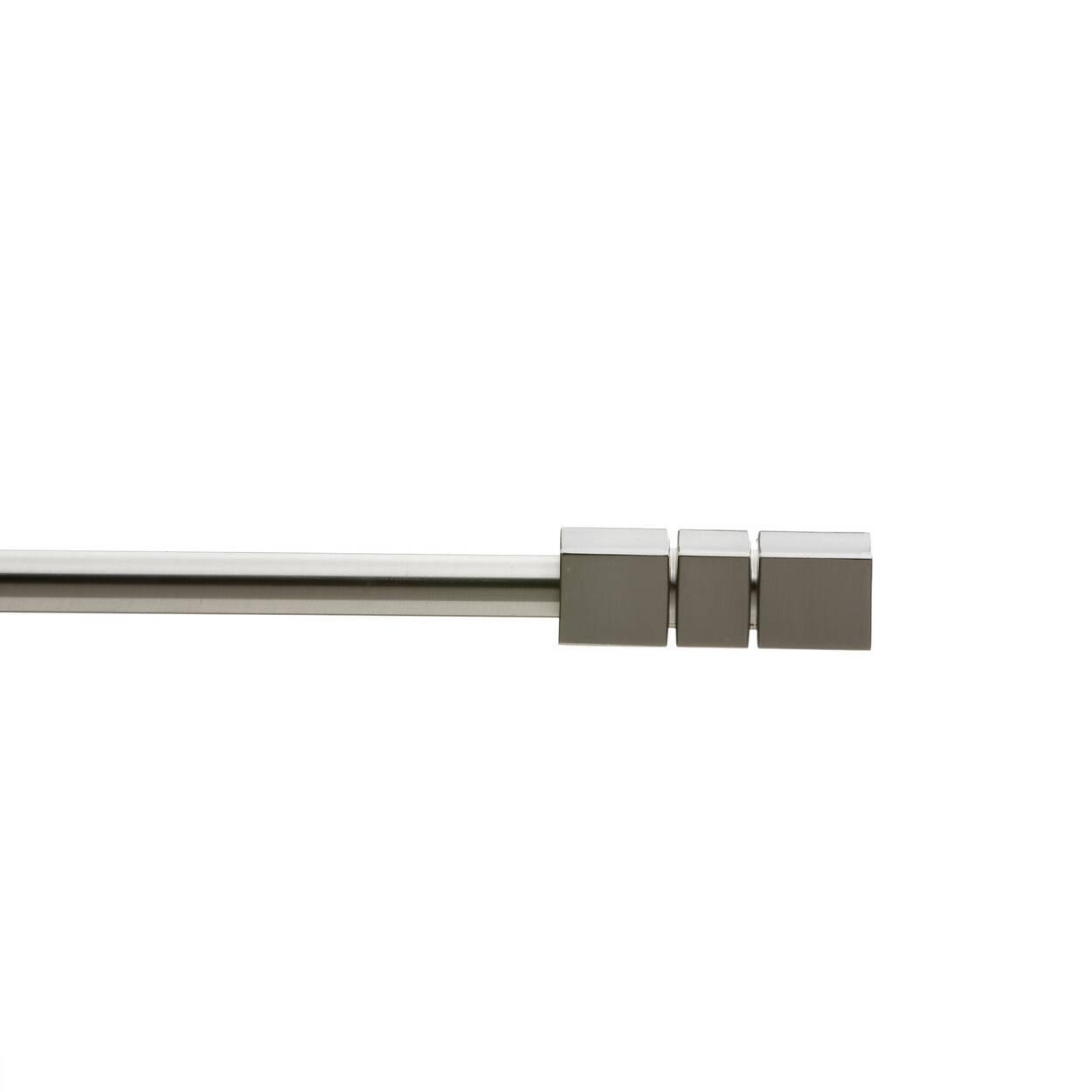 Ensemble de tringle à rideaux - Diamètre 13/16 mm
