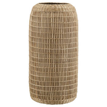 Natural Bamboo & Seagrass Tall Vase