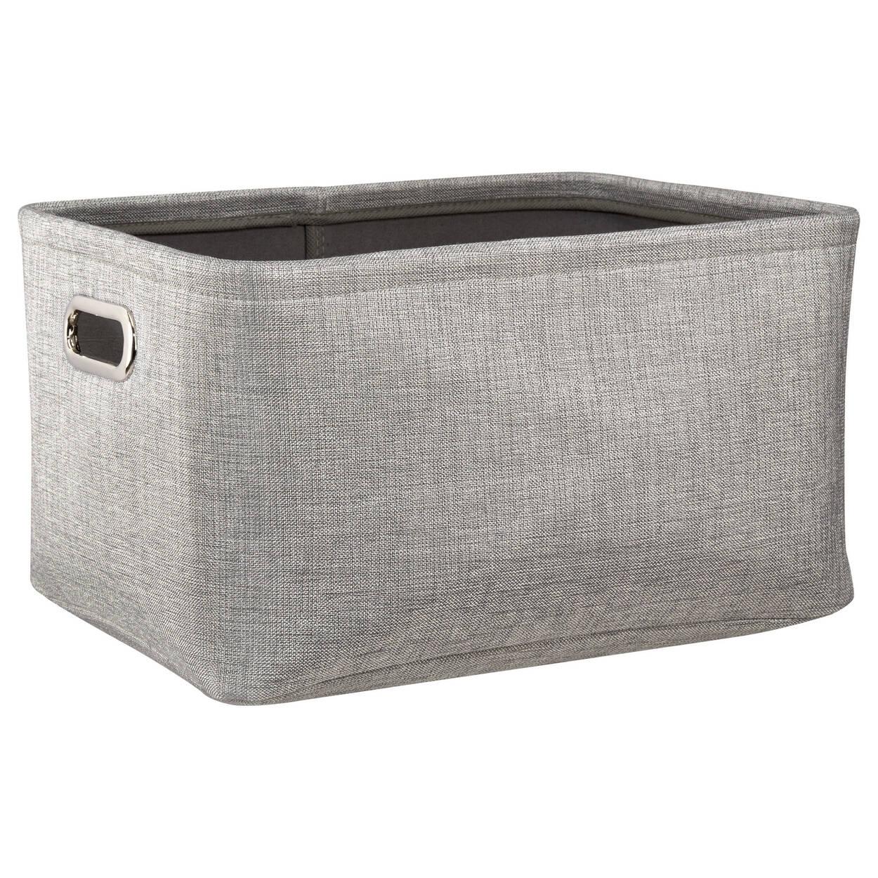 petit panier de rangement avec poign es. Black Bedroom Furniture Sets. Home Design Ideas