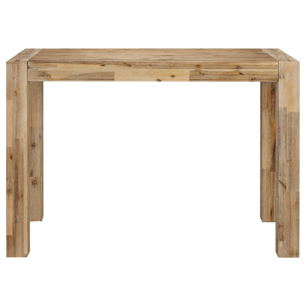 Table de bar en bois
