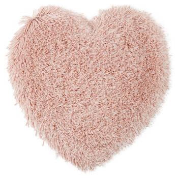"Salome Heart-Shaped Decorative Rug 24"" X 24"""