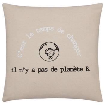 C'est le Temps de Changer Cushion Cover