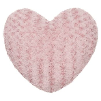 "Rose Heart-Shaped Decorative Pillow 18"" X 18"""