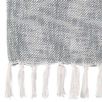 "Heidi Throw with Tassels 50"" X 60"""
