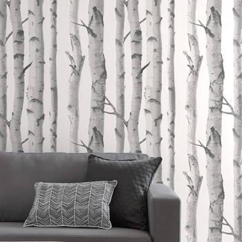 Birch Trees Wallpaper - Double roll