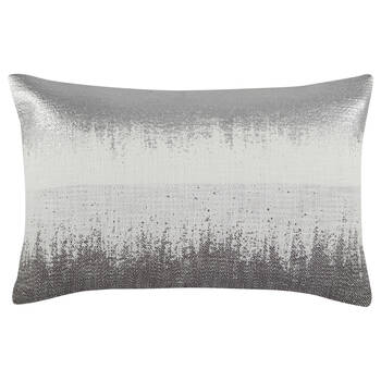 "Edwin Jacquard Decorative Lumbar Pillow 13"" X 20"""