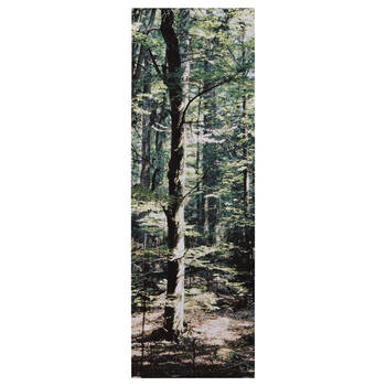 Evergreen Trees Printed Canvas