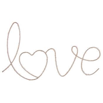 Mot décoratif Love à DEL