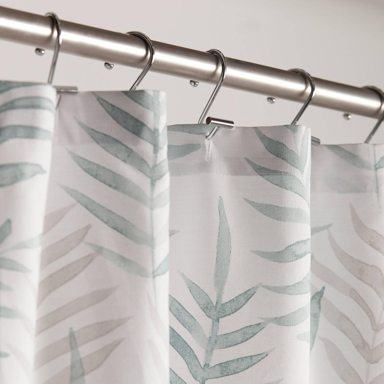Island Leaves Shower Curtain