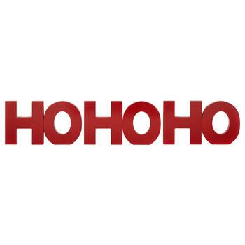 Decorative Words Ho Ho Ho