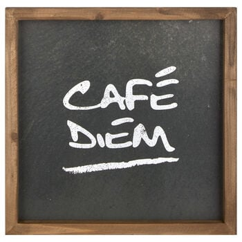 Café Diem Framed Art