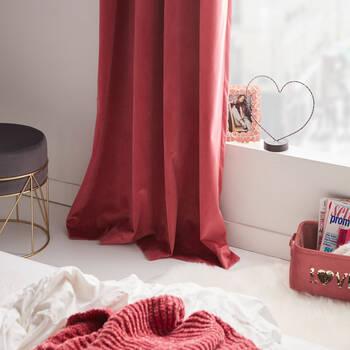 Sequined Velvet Love Storage Basket