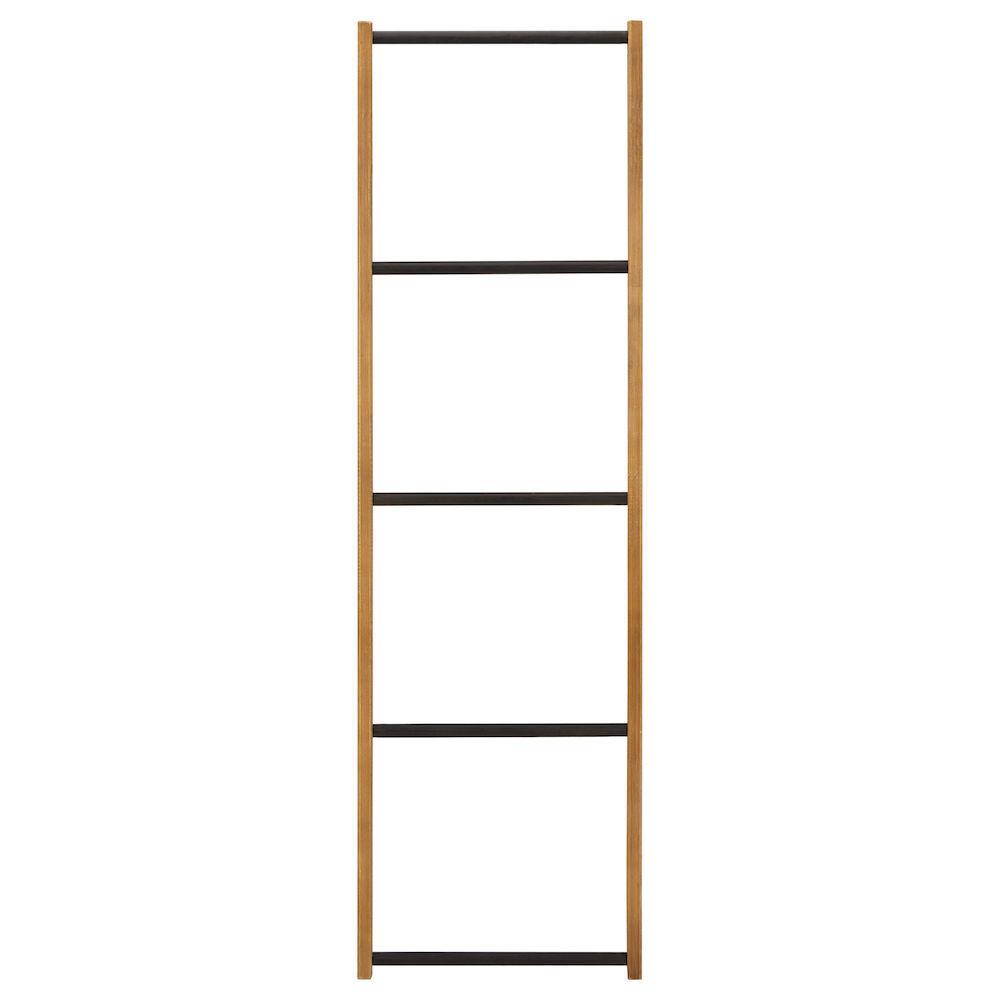 echelle porte serviette bois Porte-serviettes échelle en bois et en métal
