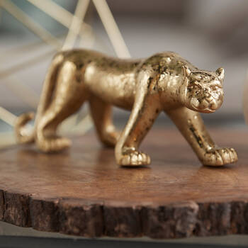 Decorative Gold Leopard